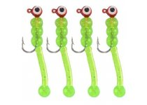 Jenzi TROUT-DOPE Trout & Perch Jig X1 - Chartreuse-Gold