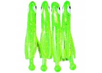 Jenzi TROUT-DOPE Trout & Perch Jig X2 - Chartreuse-Gold