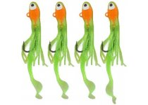 Jenzi TROUT-DOPE Trout & Perch Jig X3 - Chartreuse-Gold